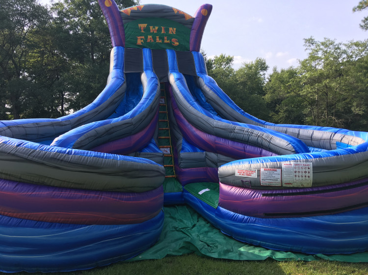 high quality water slide rentals