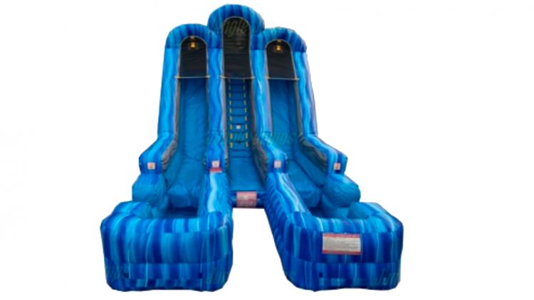 the best water slide rentals