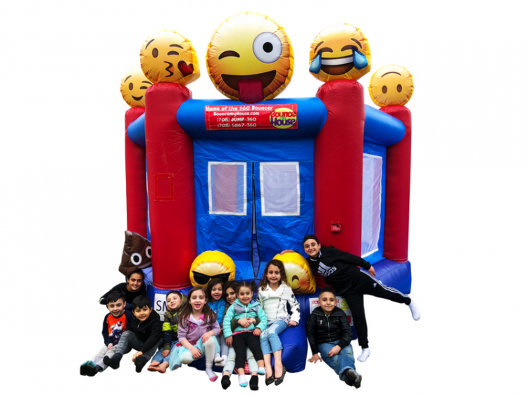 Emoji Mini Bouncer (13x13)