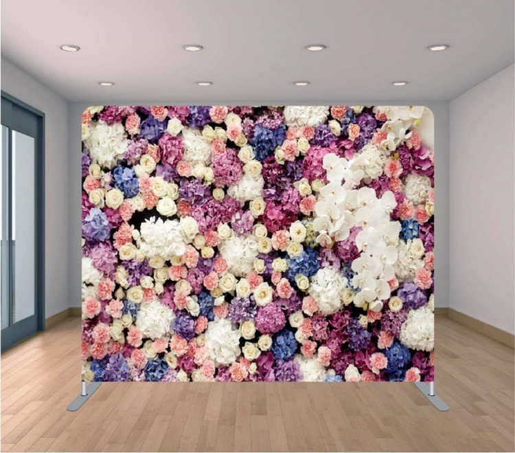 Colorful Flowers Backdrop
