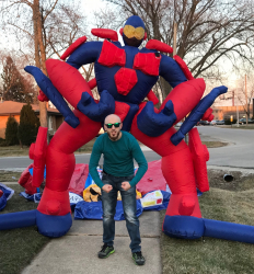 Giant Inflatable Robot