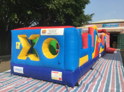 Double Slide XO Obstacle Course
