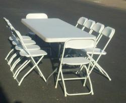 Table/Chair Setup & Breakdown