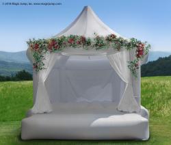 White Wedding Bounce House