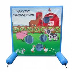Harvest Throwdown Frame Game Panel