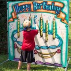 *** NEW *** Birthday Cake Frame Game - $50