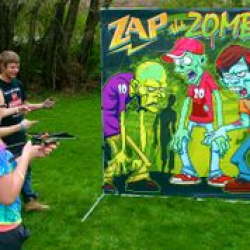 Zap the Zombies Frame Game - $65