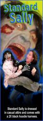 Scary Sally Zombie - $150