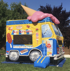 Ice Cream Truck Bounce House - $175