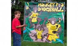 *** NEW *** Monkey Poo Dodgeball Frame Game - $50