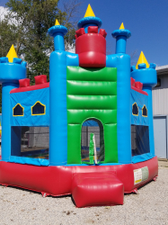 Castle Bounce - Blue - $175