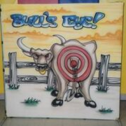 *** NEW *** Pin the Tail On the Bullseye - $50