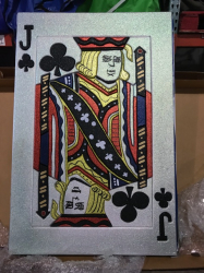 Giant Jack of Clubs - $25