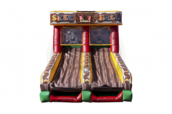 *** NEW *** Skee Ball Inflatable