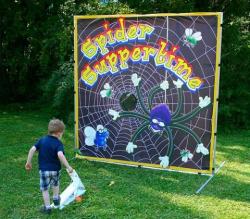 Spider Suppertime Frame Game