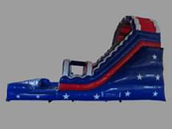 1 1619026251 America The Beautiful 22 Foot Water Racing Slide