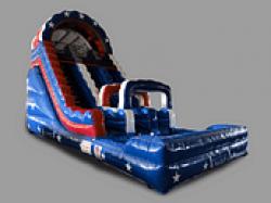 America The Beautiful 22 Foot Water Racing Slide