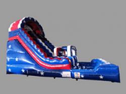 4 1619026251 America The Beautiful 22 Foot Water Racing Slide