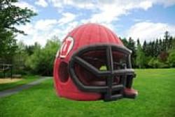 U of U Running Utes Football Helmet