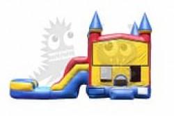 Bouncy Castle 5 In 1 Pool Combo (Optional Customizable Banne