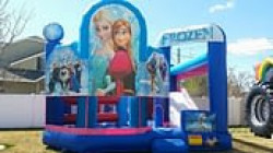Disney's Frozen Bouncer and Slide Combo