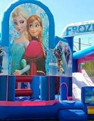 frozen tour 1 1619020518 Disney's Frozen Bouncer and Slide Combo