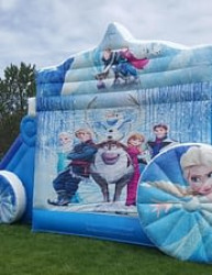 Disney's Frozen Magical Carriage Bouncer and Slide Combo