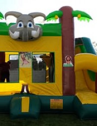 jungle slide2 1619019919 Jungle Jumper with Slide