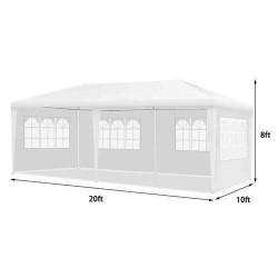 large 8c2b072a abbe 4f2a acb2 b76220c12bb9 1619031645 Canopy Tent With Drapes 10 x 20 x 8