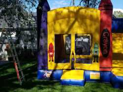 large photo 1619132955 Crayola Crayon Jumper and Slide Combo