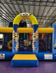 Minions Slide, Obstacle, Jumper Combo