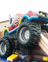 monster truck2 1619020003 The Monster Truck Bouncer & Slide Combo
