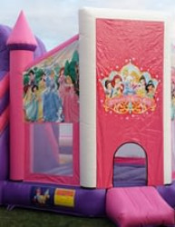 princess bounce house 1619020851 Disney Princess Bouncer & Slide Combo