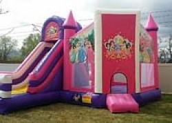 Disney Princess Bouncer & Slide Combo