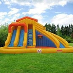 water park 2 1619022867 The Water Park 3 Slide and Pool Combo