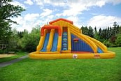 The Water Park 3 Slide and Pool Combo