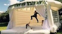 Wedding Bouncer With Decor