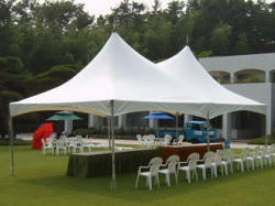 Marquee Commercial 6m x 12m - Installed