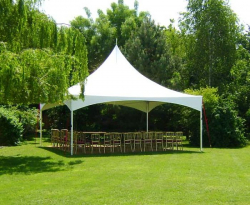 Marquee Commercial 6m x 6m - Installed