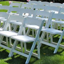 Americana Wedding Chair - White