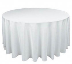 White Tablecloth - Suit 1.5Mtr Banquet Table