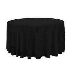 Black Tablecloth - Suit 1.5Mtr Banquet Table