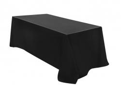Black Tablecloth - Suit 1.8Mtr Trestle Table