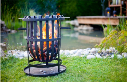 Brazier With Grill