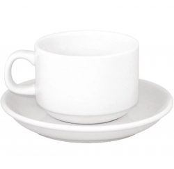 Tea Cup & Saucer Set - Pack 12