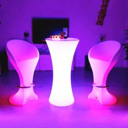 Illuminated Glow Chair Stool