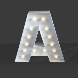 LED Light Up Letter - 60cm - A