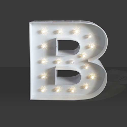 LED Light Up Letter - 120cm - B