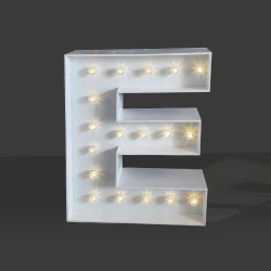 LED Light Up Letter - 60cm - E