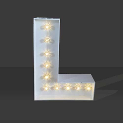 LED Light Up Letter - 60cm - L